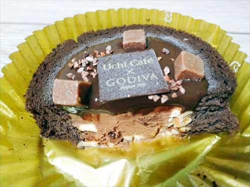 ショコラアイスクリームロールケーキ